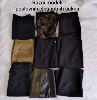 Zenske tarmerke i elastinu - Srbija: Zenske elegantne i sportske suknje