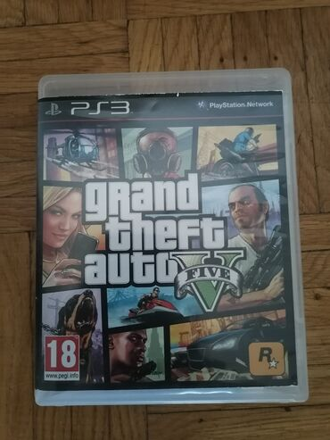 PS3 (Sony PlayStation 3) | Srbija: Gta5 za ps3
