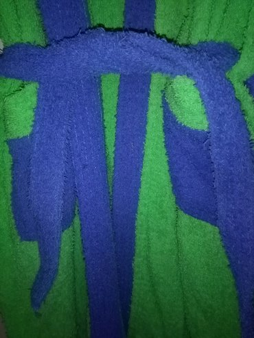 Extreme-intimo-bade-mantil - Srbija: Bade mantil zeleno plavi,od frotira