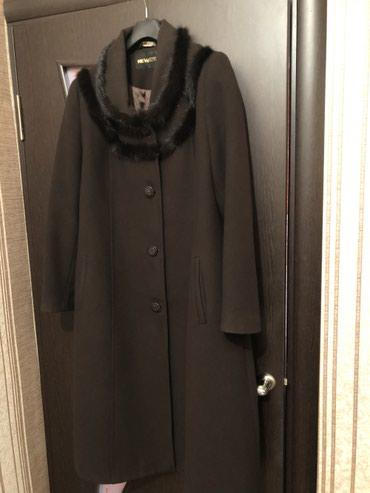 Пальто женское с норкой, в отличном в Бишкек