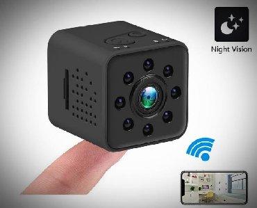 мини камера в Кыргызстан: Мини камера вайфай, датчик ночного видения, просмотр через программу и