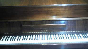 мелодия пианино в Кыргызстан: Продается фортепиано PETROF производства Чехия в хорошем состоянии