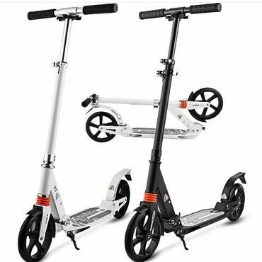 Sport scooter özünüzlə asanlıqla istənilən yenə daşıya bilərsiniz