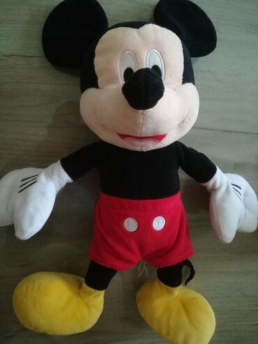 Igračke   Beograd: Igračka plišana Mickey Mouse, kao nova, visine 45cm
