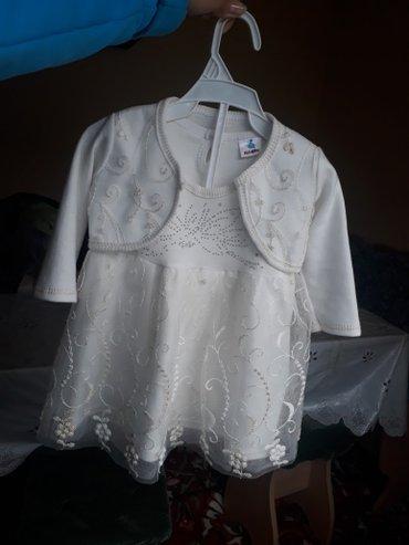 Платье двойка. на 1-2г. почти новое. 1р было надето. в Бишкек