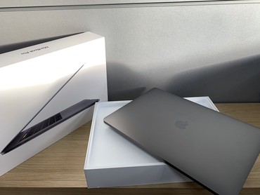 "Apple MacBook Pro 2018 15,4 ""(512 ГБ, Core i7 8-го в Бишкек"