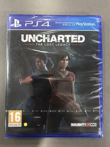 Bakı şəhərində Uncharted The Lost Legacy