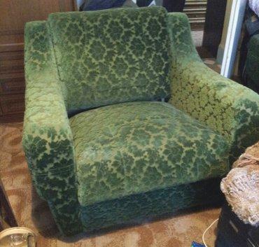 Fotelje | Srbija: Retro foteljeDve stare-retro fotelje, kupljene 1975 godine. Jako malo