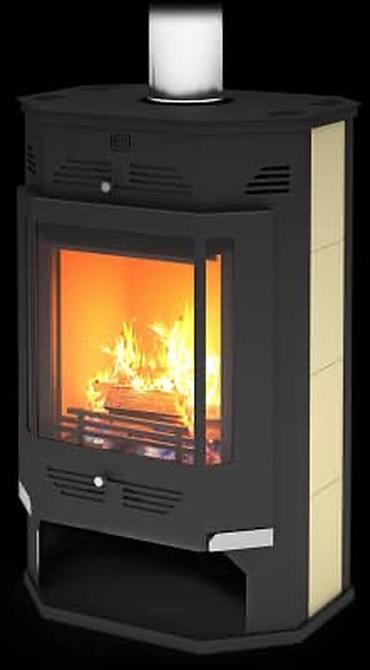 умные газовые котлы в Кыргызстан: Печь Камин «Румба»Отопительный котёл#печь #отопление#печь для