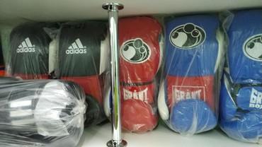 Перчатки в Кыргызстан: Профессиональные боксерские перчатки grant boxing на липучке и на