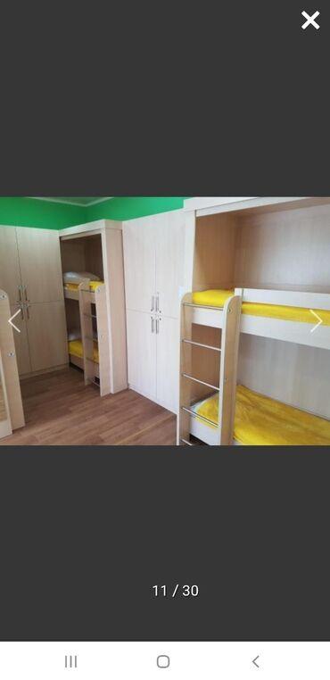 Комнаты - Кыргызстан: Сдаю койко-места в благоустроенном хостеле. Район Советская/Медерова