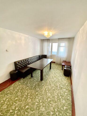 Продажа квартир - Бишкек: 104 серия, 3 комнаты, 58 кв. м Совмещенный санузел, Угловая квартира, Сквозная планировка