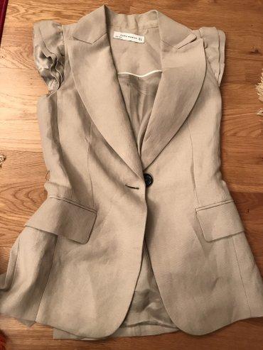 Шикарный пиджак от зары!!!! новый! 38/40 наш размер! в Бишкек