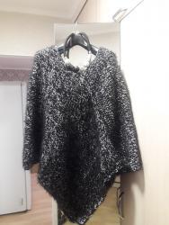вязание пальто кардиганы пончо в Кыргызстан: Продаю вязаное пончо (ручная работа). В него не возможно не влюбиться!