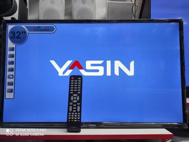 Тв yasin smart-32e  диагональ 82см модель 2021г  smart tv ips display