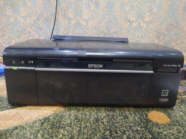 Клексан ош - Кыргызстан: Срочно срочно Продается цветной принтер Epson p50 с новой доноркой в