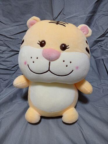 котенок в Кыргызстан: Тигренок - котенок.Приятный подарок для детей.Очень мягкий и приятный