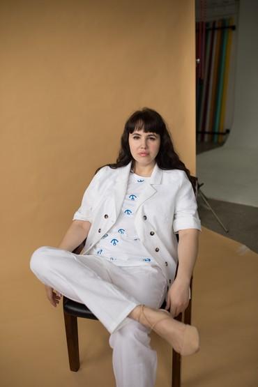 Дизайнерская одежда для полных в Бишкек