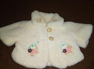 Верхняя одежда в Сокулук: Продаю очень красивое тёплое болеро. Одевали 1 раз на праздник. В
