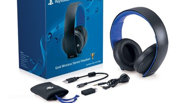 Bakı şəhərində Playstation gold wireless stereo headset,for ps4,ps3,pc,phone. Snursuz- şəkil 3
