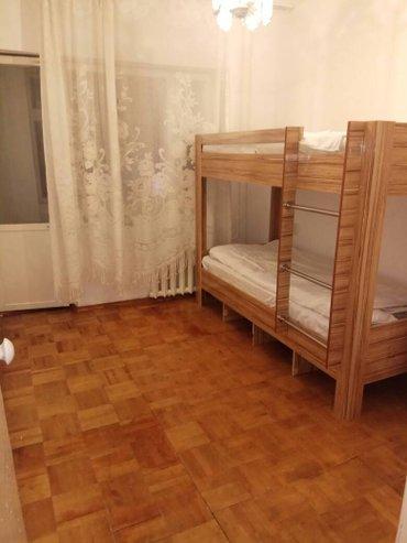 Одномеcтные кровати-койки в чиcтом в Бишкек