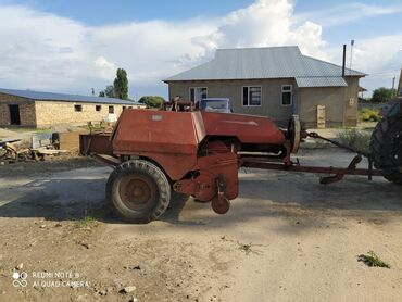 Трактор т 25 цена бу - Кыргызстан: Продаю пресс подборщик привозной трактор ЮМЗ состояние отличное