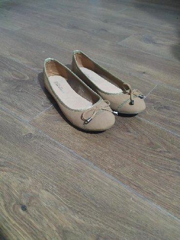 Ženska obuća | Plandište: Krem baletanke, kupljene u Parizu, prodajem ih jer su tesne. Broj 38