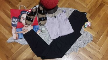 Ženska odeća | Vrsac: CALVIN KLEIN FARKE 28 I BLUZA AMISU S/M