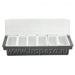 столик для фруктов в Кыргызстан: Контейнер для фруктов 6 отделений L 49см w 16см h 9,7см
