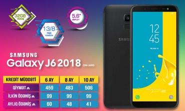Bakı şəhərində Samsung J6 2018 kreditla
