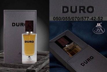 Bakı şəhərində Dubaydan Nasomatto - Duro Eau De Parfum For Men by FA 100ml-39AZN.