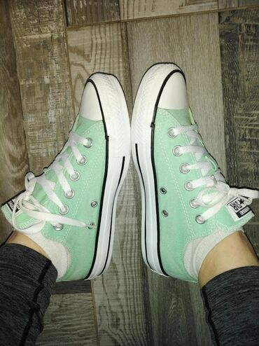 Ostalo | Backa Palanka: All star mint converse 37.5 24cm NOVE