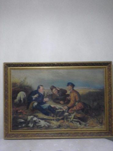 Картина В.Г.Перова ,,Охотники на в Бишкек