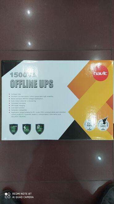 yuva - Azərbaycan: Havit 1500W UPSHavit 1500W Offline UPS 4 power yuva var650W - 60