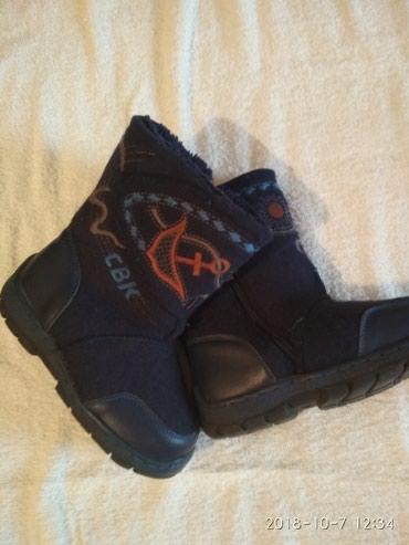 Сапожки-ботиночки !!! очень теплые!!! лёгкие!!!31 размер!!! в Бишкек
