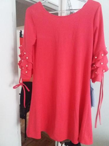 Nova pink haljina L velicina - Nis - slika 3