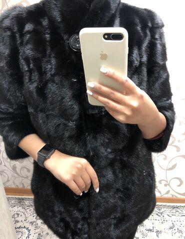 Шубы - Кыргызстан: Срочно!  Норка, чёрная, трансформер( есть рукава и длина)  Состояние о