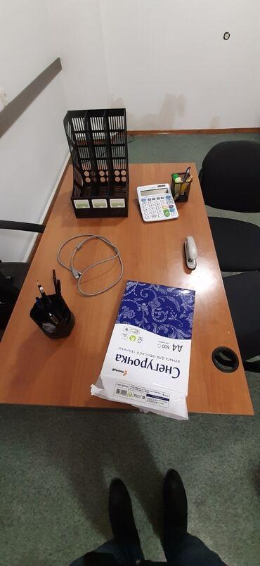 Снегурочка бумага - Кыргызстан: Канцелярские товары совсем новые: Ручки 3 шт Карандаши 2шт Точилка 1шт