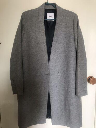 Личные вещи - Кыргызстан: Пальто деми манго серый размер хs, s