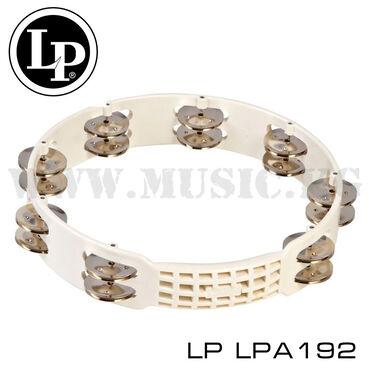 """Тамбурин LP LPA192Размер: 10""""Пластиковый корпусУдобная ручка и"""