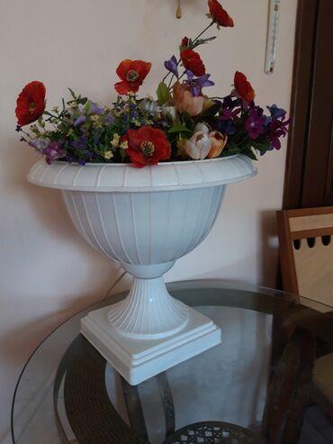 Продам ваза большая для цветов, для салонов, интерьераваза пластик