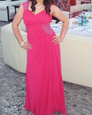 Вечернее платье в отличном состоянии. турция размер 46-48. в Лебединовка