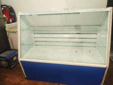 Электроника - Орто-Сай: Б/у Холодильник-витрина   Белый холодильник
