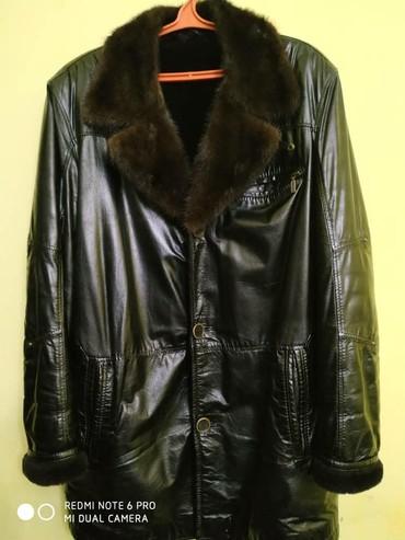Другая мужская одежда в Кыргызстан: Продаётся бу мужская дубленка в хорошом состоянии. Размер L, темно