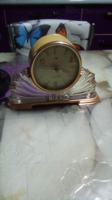 Temiz xurusaldi qədimi saatdı 50 60 çi illərindi