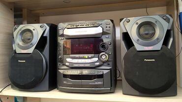 Продаю муз центр Panasonic отл. звук. есть аукс