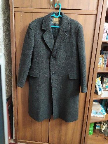 Пальто - Сокулук: Мужское шерстяное пальто