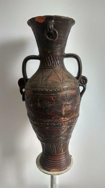 Ocuvana polovna vaza prelepog dizajna. Duzina oko 80 cm. Stanje kao na - Lazarevac