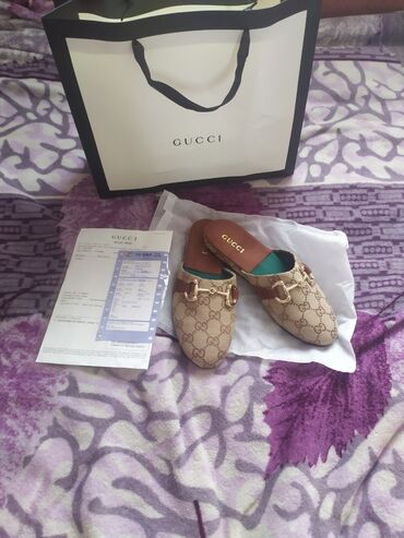 shlepki tanketka в Кыргызстан: Продаю новые мюли Gucci. Размер 35-36. Заказывали в Китае за 3500с