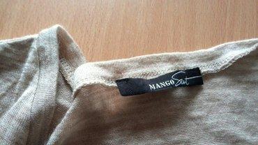 Zlatnosrebrni-pleteni-kaiscm-duzina - Srbija: Mango bluza, zlataste boje, duzina 57cm,sirina 48cm,duzina rukava 60cm